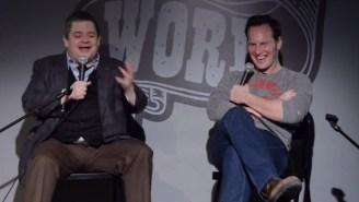 Watch Patton Oswalt Criticize 'Watchmen' While Sitting Next To Nite Owl Patrick Wilson