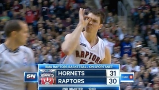 Watch Tyler Hansbrough Hit 3-Pointer, Celebrate In Expectedly Awkward Way