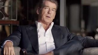 Pierce Brosnan Can't Escape His 007 Past In The Kia Sorento Super Bowl Ad