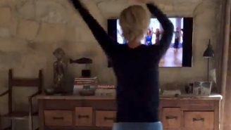 Ellen Degeneres Secretly Filmed Portia De Rossi Doing A Jane Fonda Workout Video