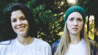 This Lesbian Couple's Pregnancy Announcement Is Cooler Than Yours Could Ever Be