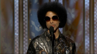 Louis C.K. And Channing Tatum Went Nuts For Prince At The Golden Globes
