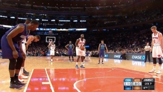 Quincy Acy Receives 'MVP' Chants From MSG Crowd As Knicks Get Blown Out