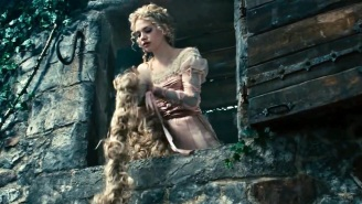 Oscar-nominated 'Into the Woods' costume designer says bondage was right for Rapunzel