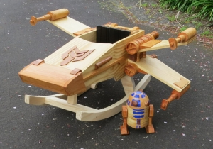 Why Buy Your Kid A Rocking Horse When An X-Wing Will Do?