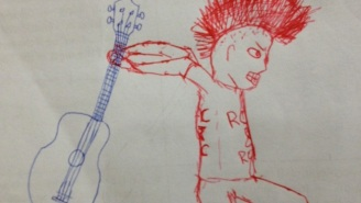 This Science Teacher Completed His Students' Random Doodles And The Results Are Quite Clever