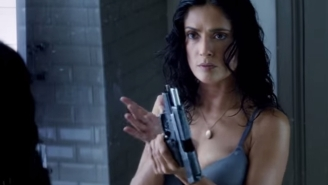 Salma Hayek Has A Plan To Stay Alive In The New Trailer For 'Everly'