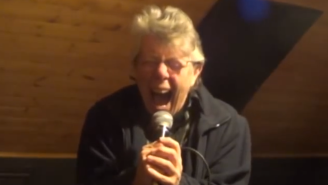 Watch This Screaming Mom Prove To Be The Best By Providing Vocals To Her Son's Grindcore Band