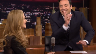 Watch Jimmy Fallon Find Out He Blew His Chance To Date Nicole Kidman