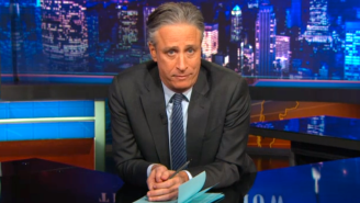 Jon Stewart Found The Right Words For The Senseless Charlie Hebdo Killings