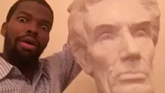 Video: Aaron Brooks Selfies At The White House