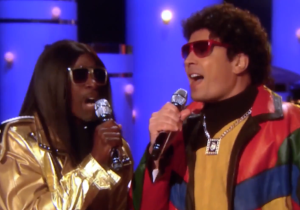 Jimmy Fallon And Don Cheadle Team Up To Bring Back The '80s With Their R&B Duo 'Pleather & Jerry'