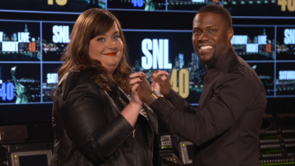 Kevin Hart Forces Aidy Bryant To Break Her New Year's Resolutions In These 'SNL' Promos