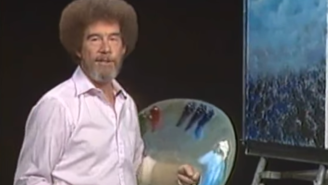Here's What Bob Ross Looked Like Before Growing His Trademark Afro
