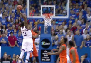 Watch Cliff Alexander Smash It On A Seven-Footer