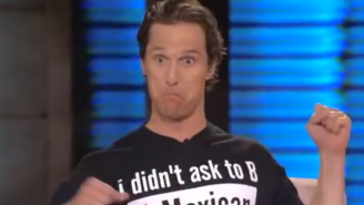 Watch Matthew McConaughey Tell An Entertaining Story About His Wild High School Days