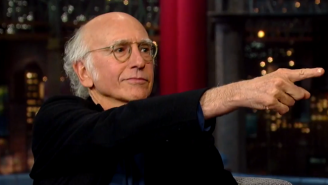 Enjoy Larry David Discussing The Finer Points Of Hotel Sex On 'Letterman'