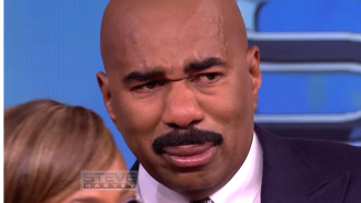 Watch Steve Harvey Fight Back Tears After This Wonderful Birthday Surprise