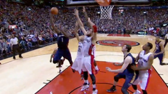 Watch Tyreke Evans Hit The Game-Winner Over Three Raptors Defenders