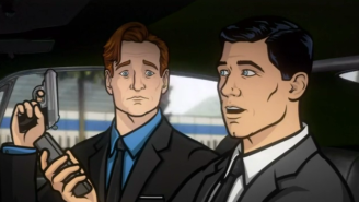 Watch Conan Enter The Danger Zone To Interview Archer And Help Him Battle Some Russian Mobsters