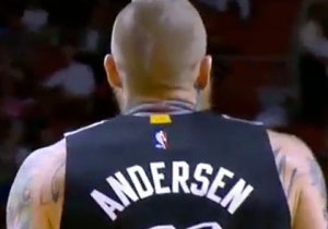 KD Blows By Birdman For Dunk; Andersen Answers With Rare 3-Pointer