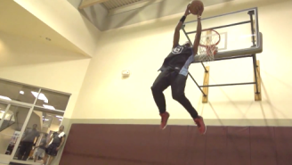 Video: Sir Issac's Electric, Slow-Motion Dunk Mix