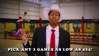 Anthony Davis Is 'The Special Man' In This Absurd New Orleans Pelicans Ticket Deal Commercial