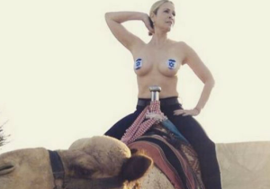 Chelsea Handler Posted Another Topless Instagram Photo, This Time While Riding A Camel