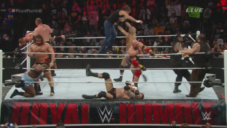 WWE Royal Rumble 2015 Results
