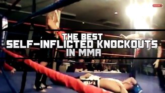 Watch These MMA Fighters Knock Themselves Out In This Wonderful KO Compilation