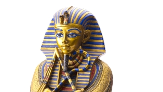 Someone Broke King Tutankhamun's Mask And Used Superglue To Fix It