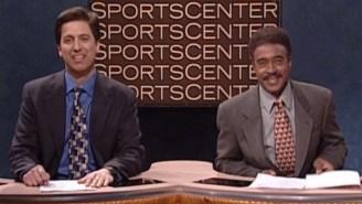 Remembering The Time Stuart Scott Inspired The Sweet Sassy Mollassy 'SNL' Sketch