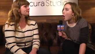 Watch the moment where Saiorse Ronan learned 'hero' Kristen Wiig is in 'Ghostbusters'