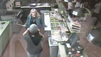Watch Surveillance Footage Of Jamie Lynn Spears Using A Huge Knife To Break Up A Pita Pit Brawl
