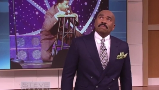 Steve Harvey Is In For Another Tear-Jerking Birthday Surprise On His Show Tomorrow