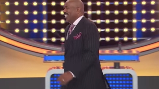 Watch Steve Harvey's Reaction To 'The Best Answer' He's Ever Heard On 'Family Feud'