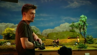 Did You Know That The Folks Behind 'Robot Chicken' Use A Nintendo Power Glove While Animating?