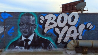 This Street Artist's Tribute To Stuart Scott Is As Cool As The Other Side Of The Pillow