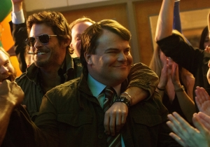 Review: James Marsden steals the outrageous comedy 'The D Train' from Jack Black