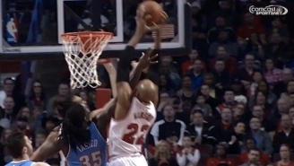 GIF: Taj Gibson Rises For Clutch Put-Back Dunk Over Kenneth Faried