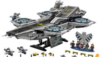 Holy Moly, Check Out Lego's New 2,996-Piece S.H.I.E.L.D. Helicarrier