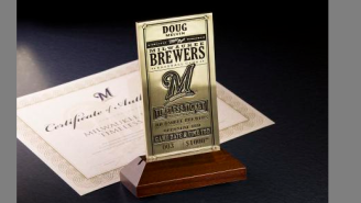 This Promotion By The Milwaukee Brewers Is Like A Real-Life Willy Wonka Golden Ticket