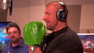 Triple H Is The New Voice Of The Incredible Hulk Because Spider-Man Is A Lazy Millenial
