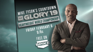 Mike Tyson Wants To Hype You For Glory Kickboxing 19