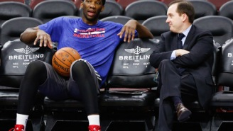 Report: Joel Embiid Weighs Close To 300 LBS; Has Blown Off Conditioning Drills