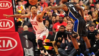 Video: Derrick Rose Crosses Up Elfrid Payton, Switches For Off-Hand Layup