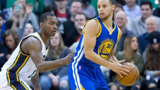 Video: Stephen Curry Hoodwinks Dante Exum