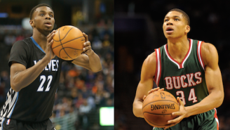 Andrew Wiggins, Greek Freak Highlight Rosters For Rising Stars Challenge