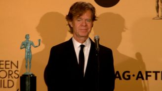 SAG: William H. Macy on FINALLY getting to give a speech