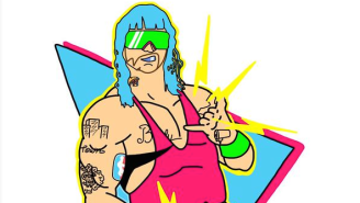 Riff Raff Already Has A WWE Name, A Complete Moveset And A Bret Hart Parody T-Shirt